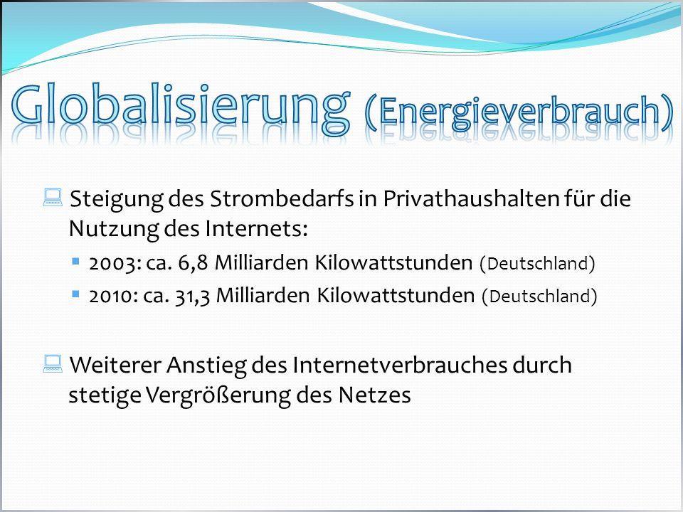 Globalisierung (Energieverbrauch)