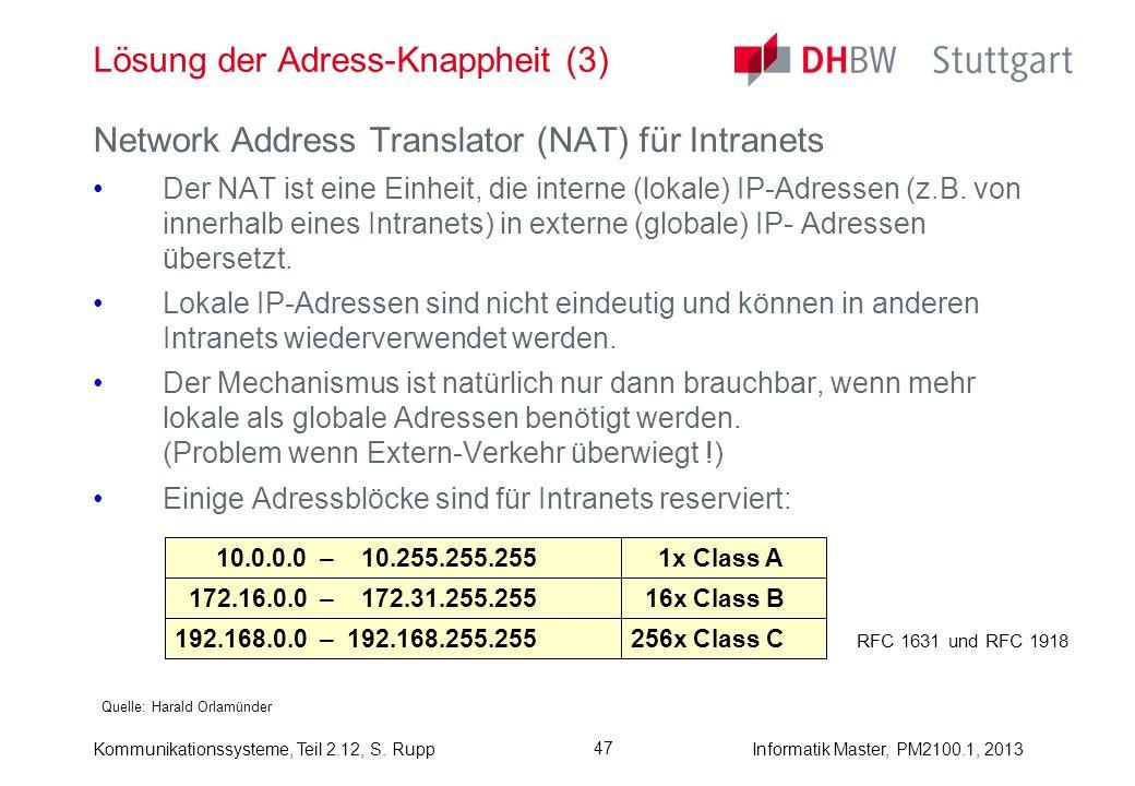 Lösung der Adress-Knappheit (3)