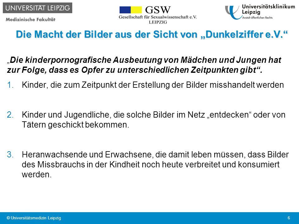 """Die Macht der Bilder aus der Sicht von """"Dunkelziffer e.V."""