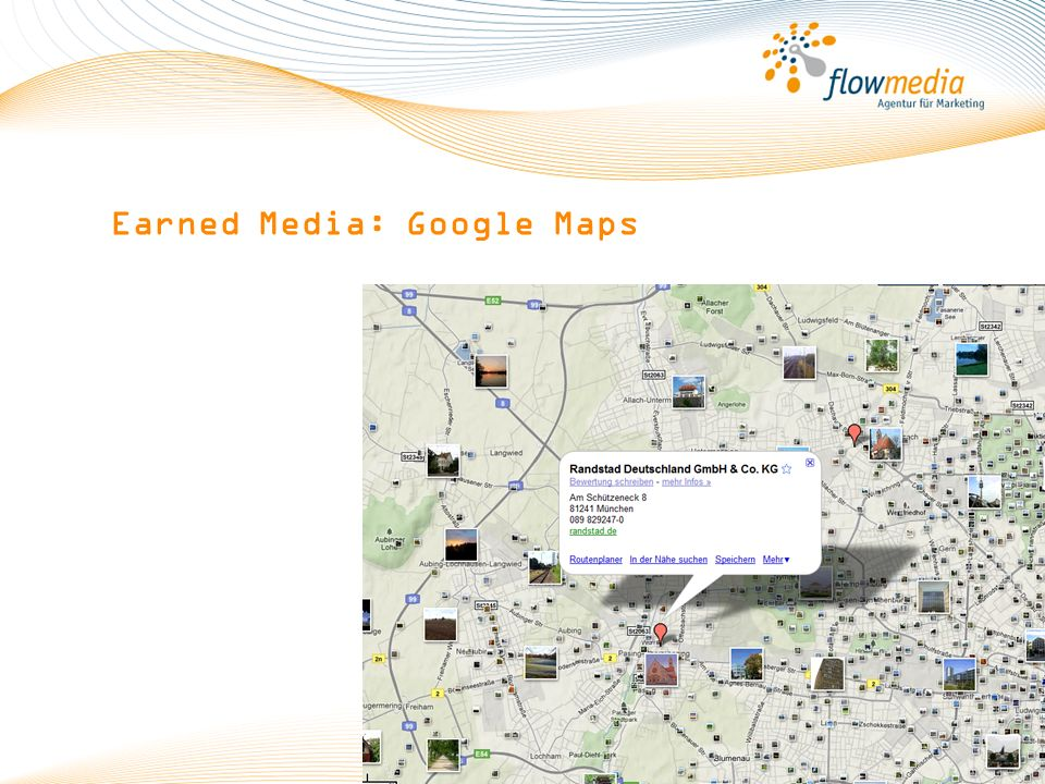 Earned Media: Google Maps