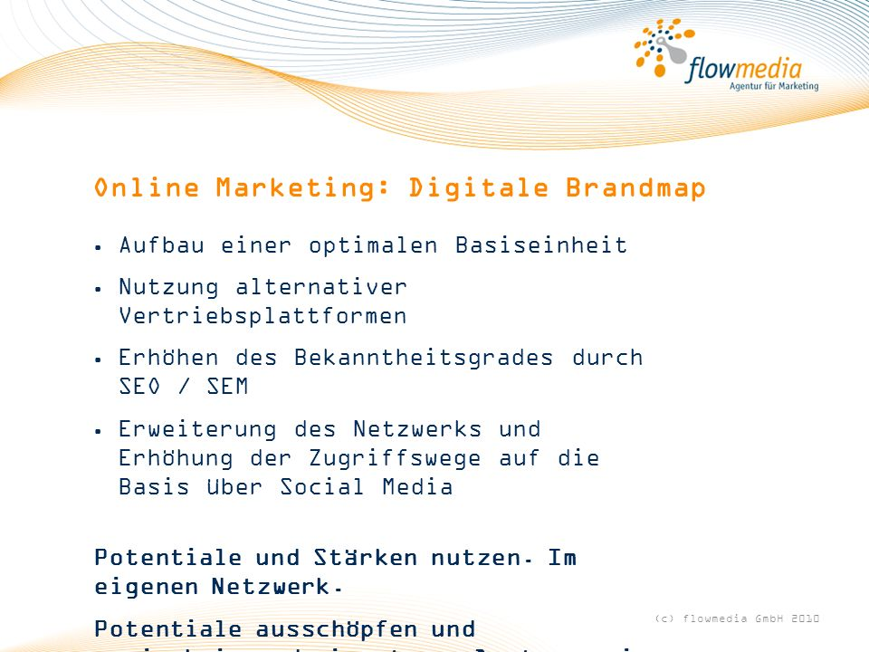 Online Marketing: Digitale Brandmap