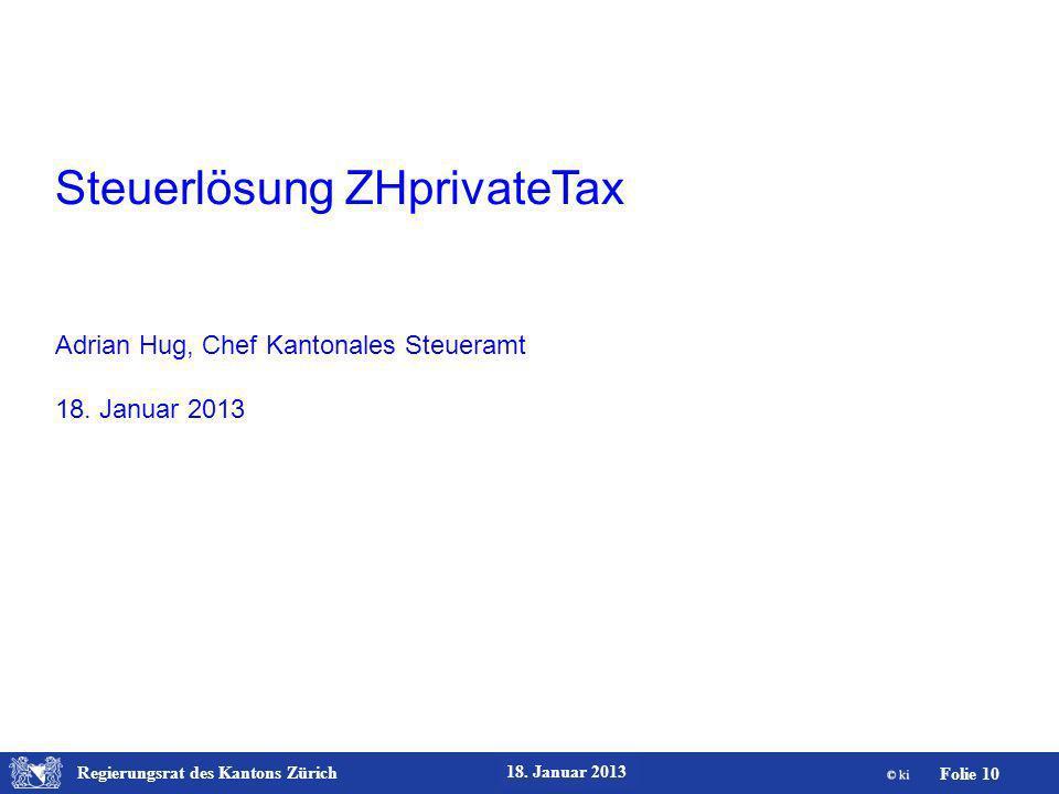 Steuerlösung ZHprivateTax