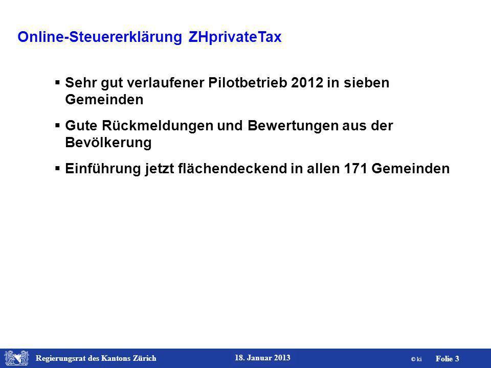 Online-Steuererklärung ZHprivateTax