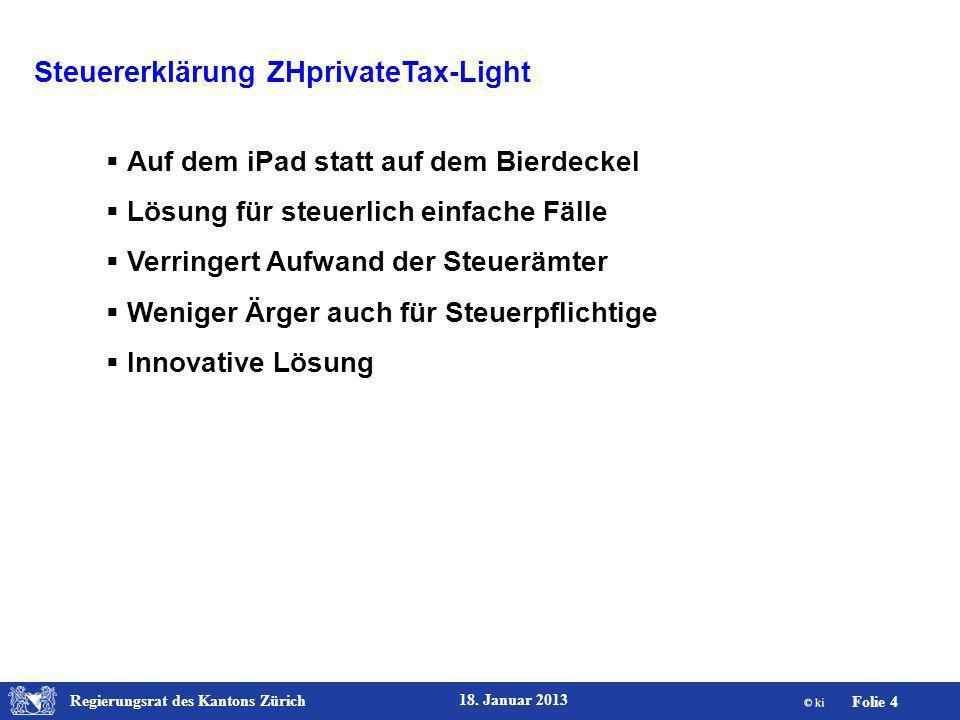 Steuererklärung ZHprivateTax-Light