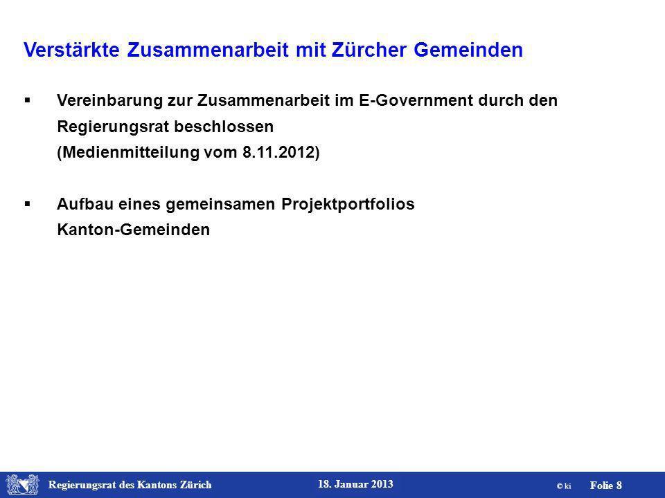 Verstärkte Zusammenarbeit mit Zürcher Gemeinden