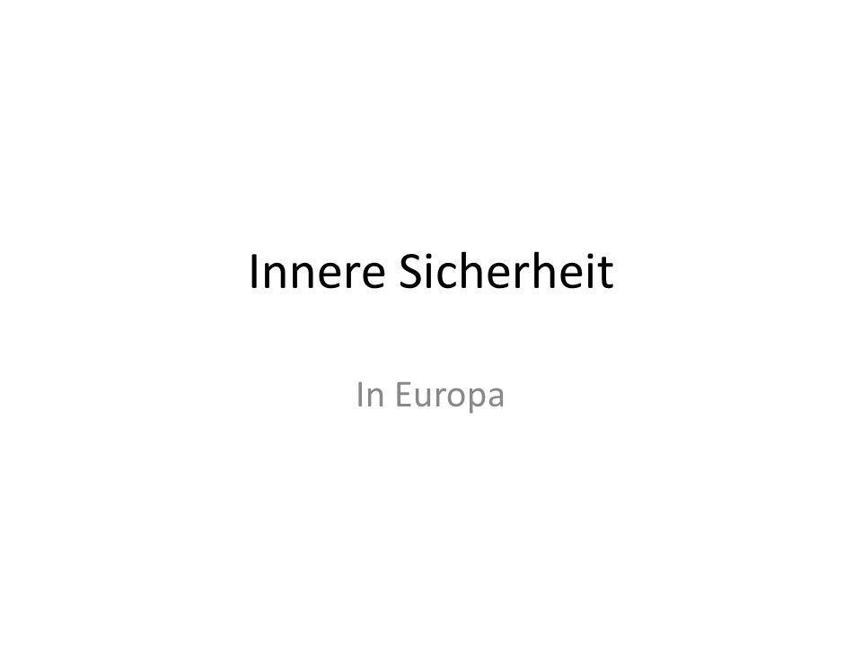 Innere Sicherheit In Europa
