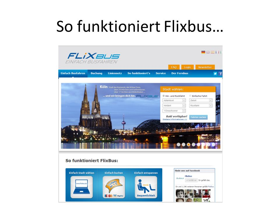 So funktioniert Flixbus…