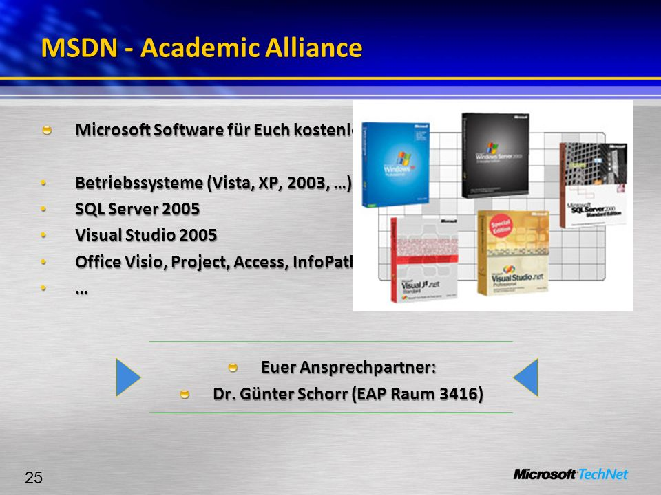 MSDN - Academic Alliance
