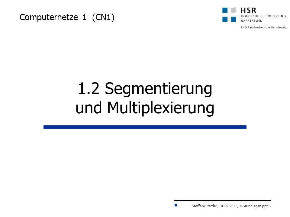 1.2 Segmentierung und Multiplexierung