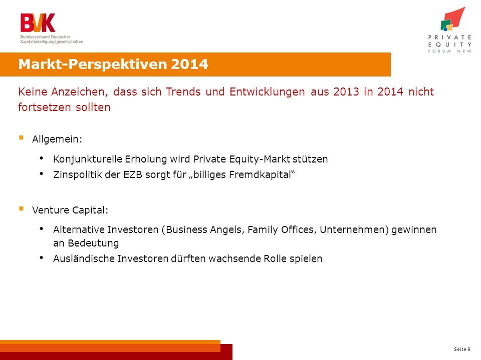 Markt-Perspektiven 2014 Keine Anzeichen, dass sich Trends und Entwicklungen aus 2013 in 2014 nicht fortsetzen sollten.