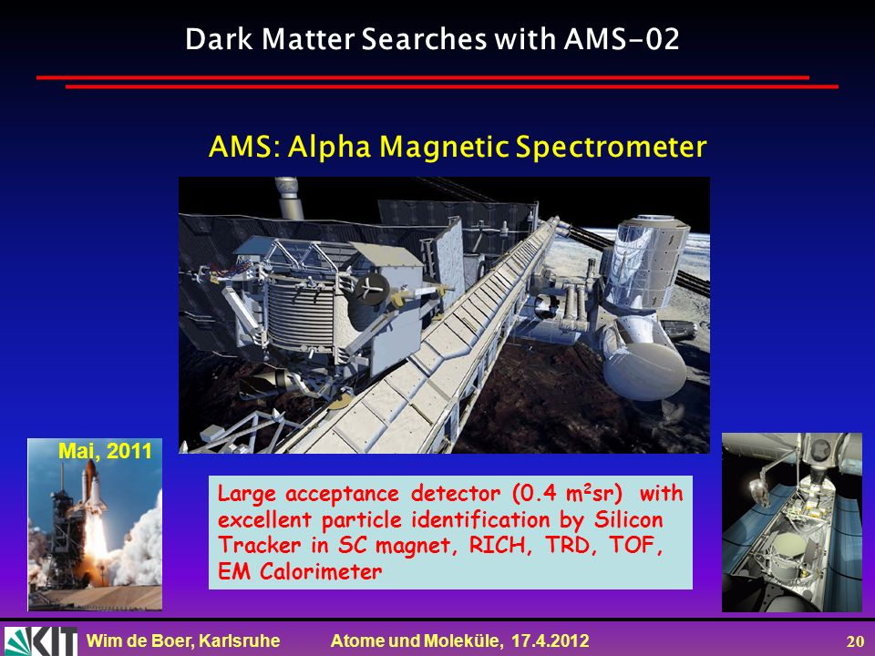 Dark Matter Searches with AMS-02