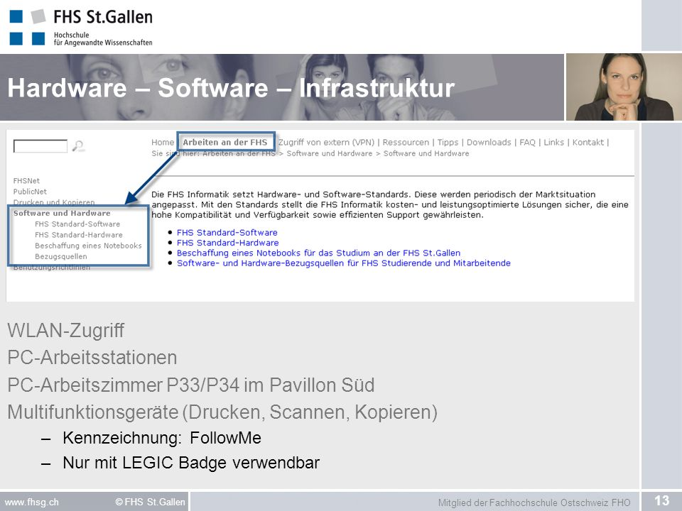 Hardware – Software – Infrastruktur