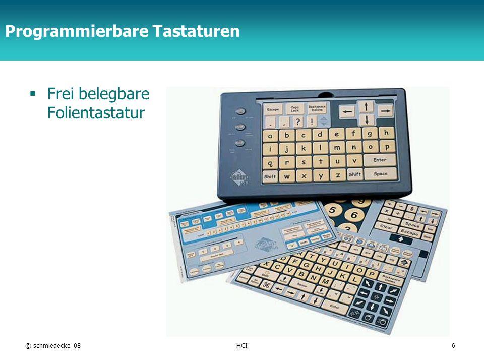Programmierbare Tastaturen