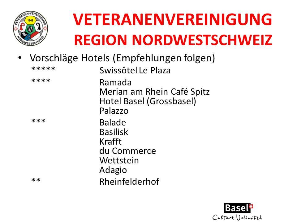Veteranenvereinigung Region NordWestSchweiz