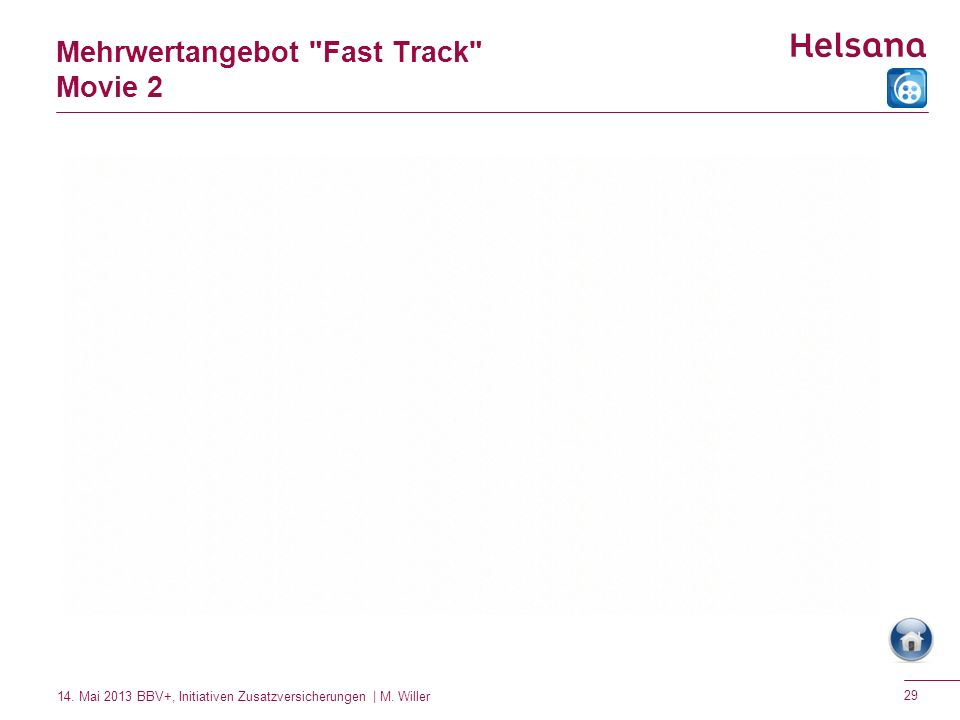 Mehrwertangebot Fast Track Movie 2