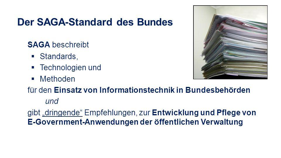 Der SAGA-Standard des Bundes