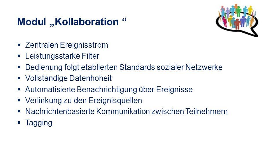 """Modul """"Kollaboration"""