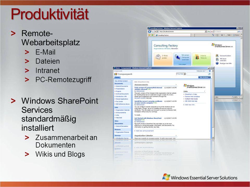 Produktivität Remote-Webarbeitsplatz