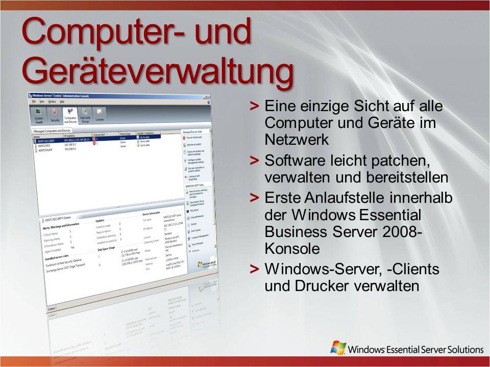 Computer- und Geräteverwaltung
