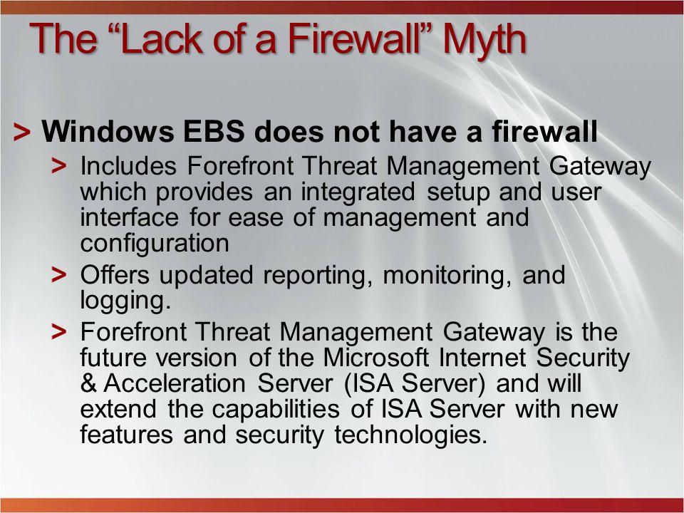The Lack of a Firewall Myth