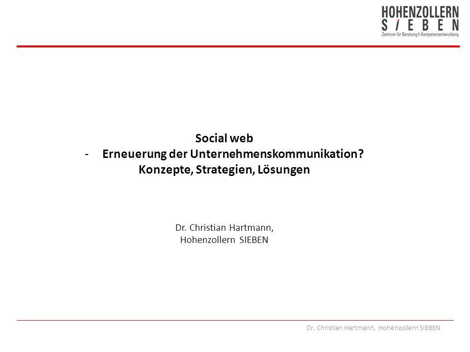 Erneuerung der Unternehmenskommunikation