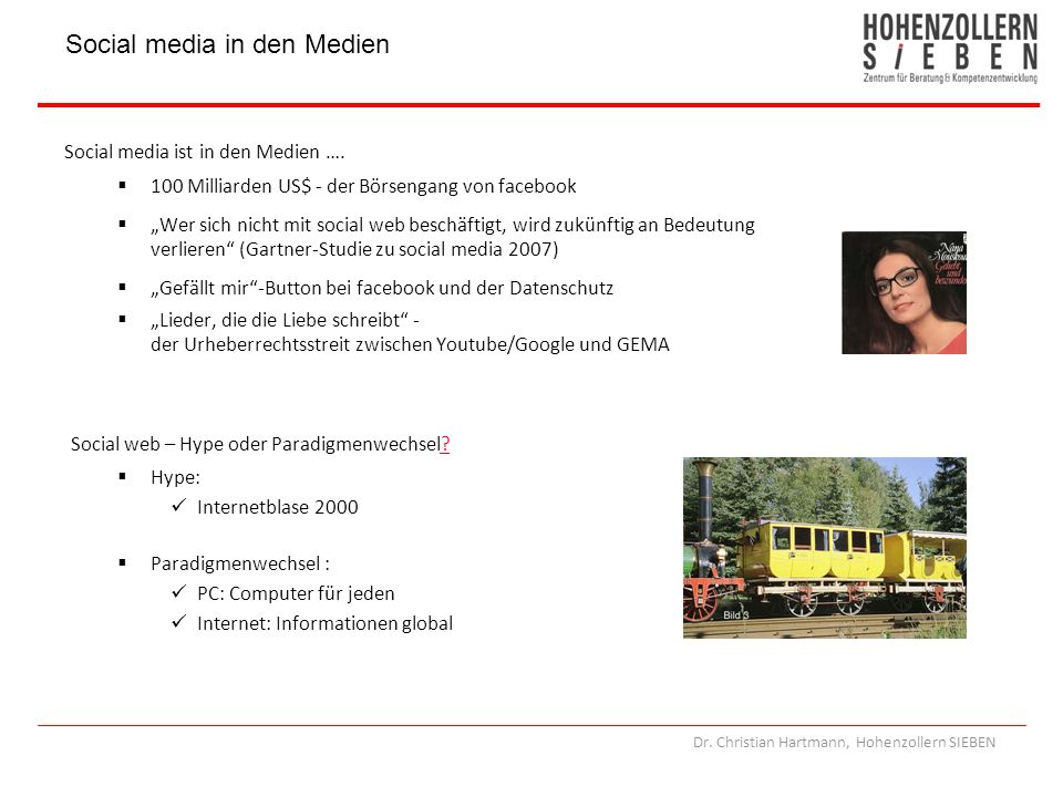 Social media in den Medien
