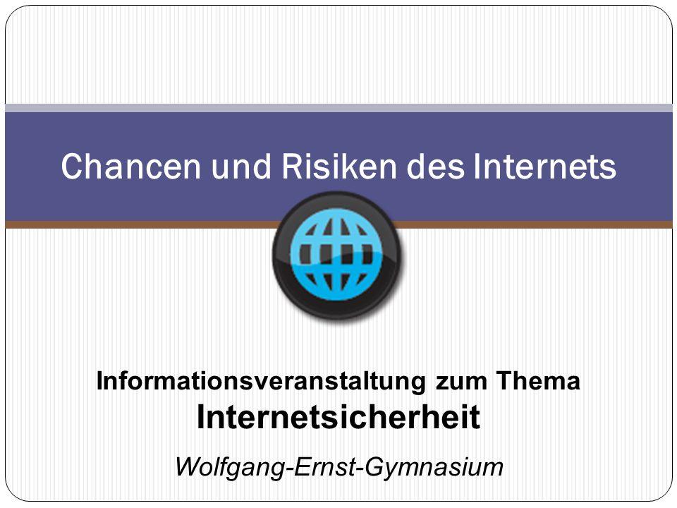 Chancen und Risiken des Internets