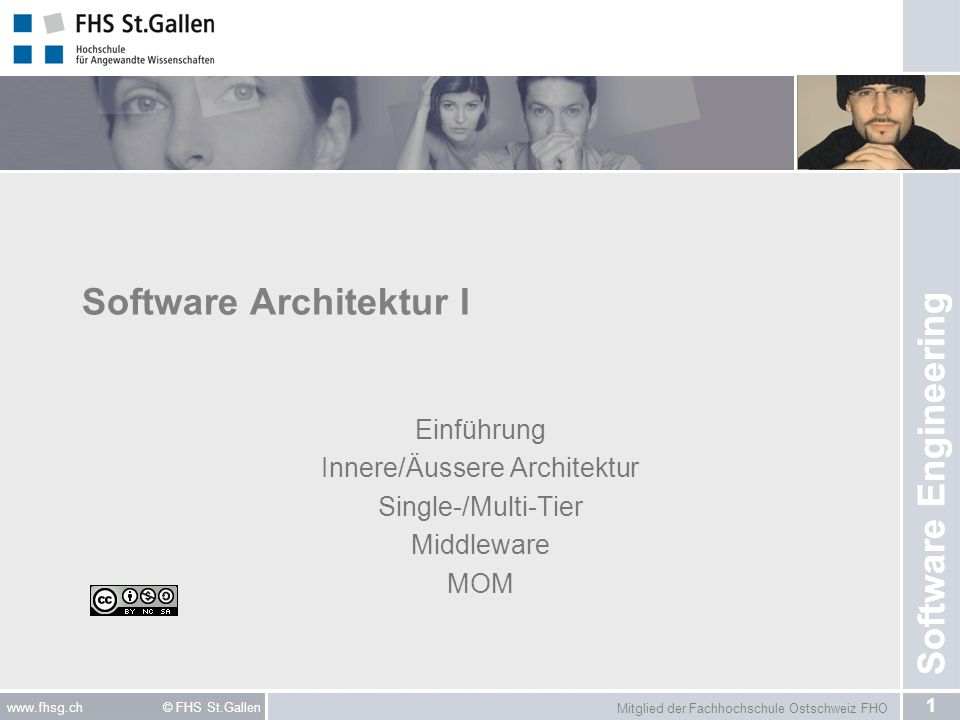 Software Architektur I