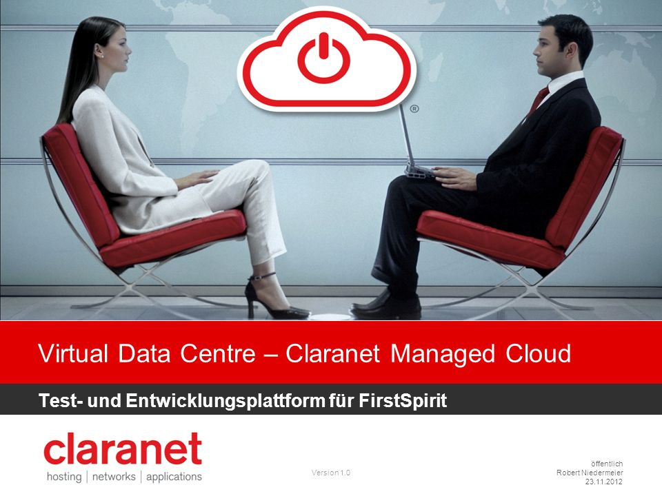 Virtual Data Centre – Claranet Managed Cloud