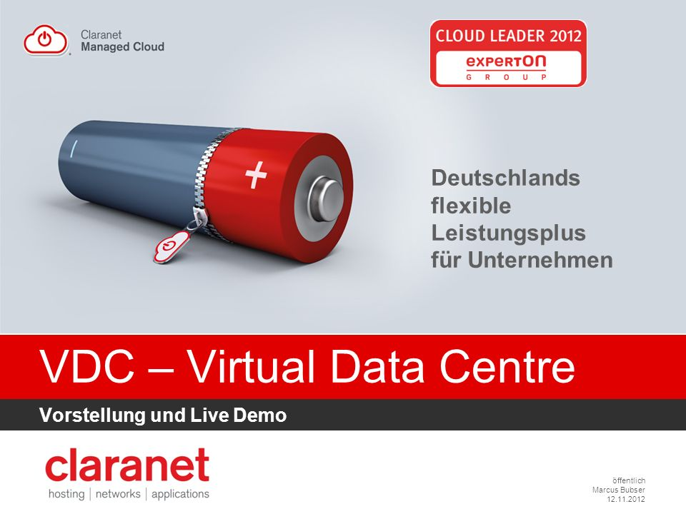 VDC – Virtual Data Centre