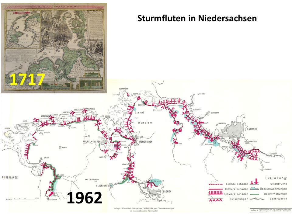 Sturmfluten in Niedersachsen