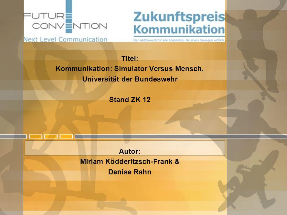 Zukunftspreis Kommunikation