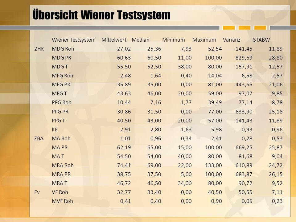 Übersicht Wiener Testsystem