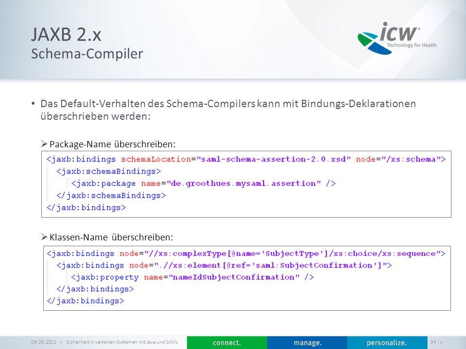 JAXB 2.x Schema-Compiler