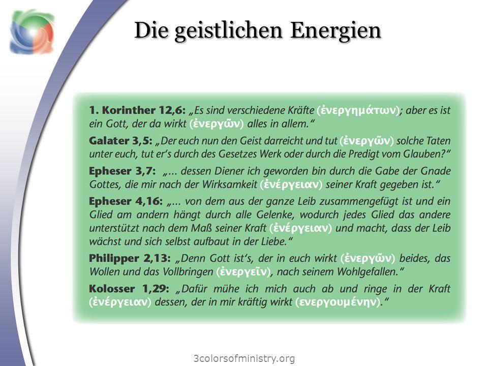 Die geistlichen Energien