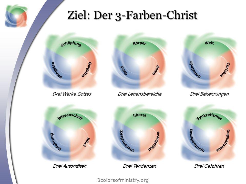 Ziel: Der 3-Farben-Christ