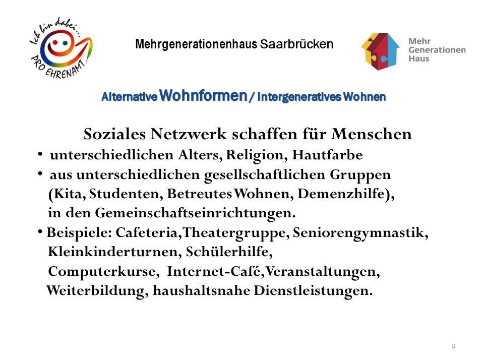 Soziales Netzwerk schaffen für Menschen