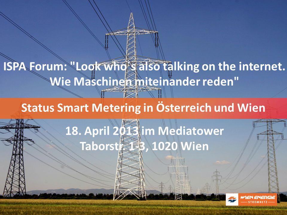 Status Smart Metering in Österreich und Wien