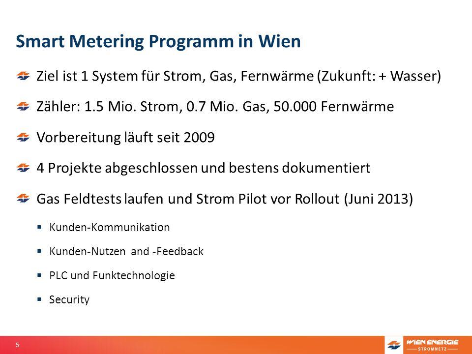 Smart Metering Programm in Wien