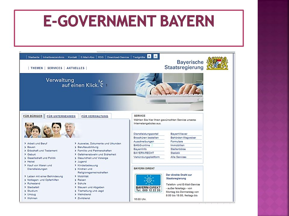 E-Government BAyern 1 2