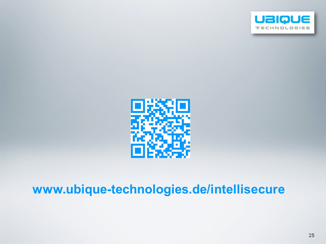 www.ubique-technologies.de/intellisecure 25