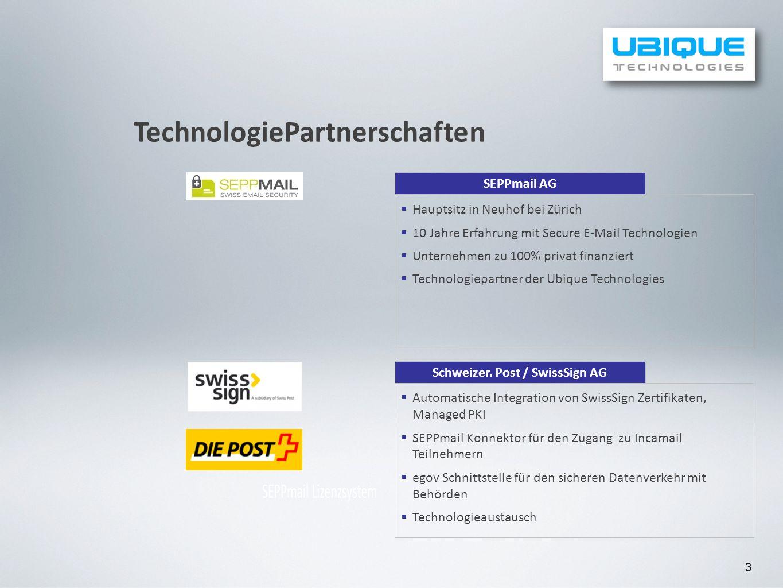Schweizer. Post / SwissSign AG