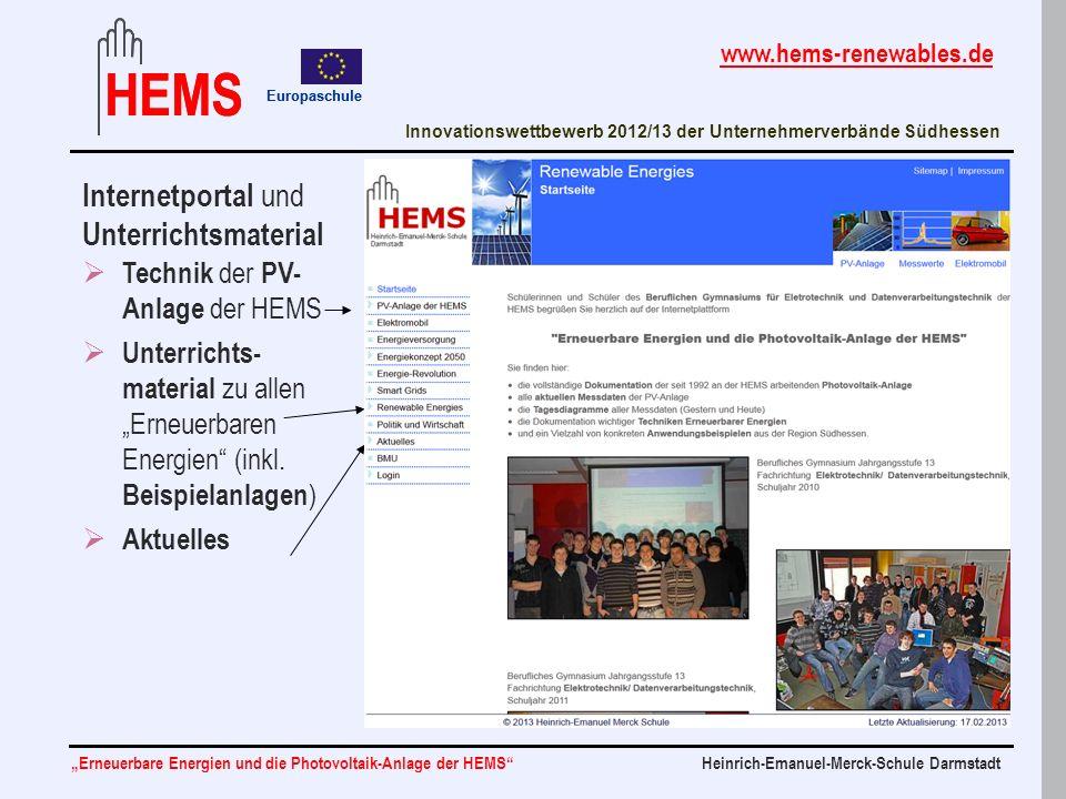 Internetportal und Unterrichtsmaterial