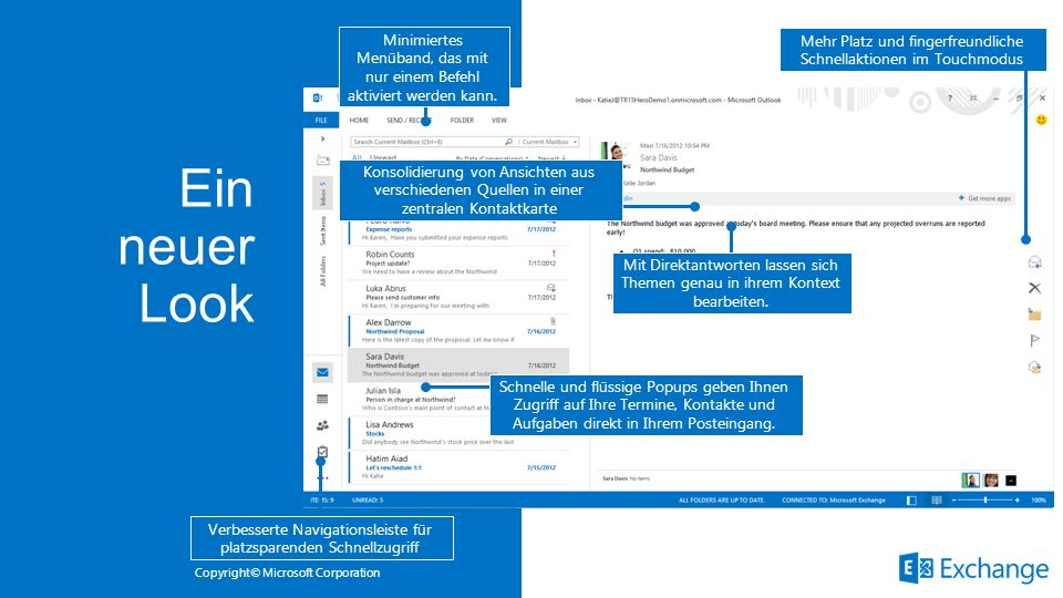 Ein neuer Look Microsoft Office 3/28/2017