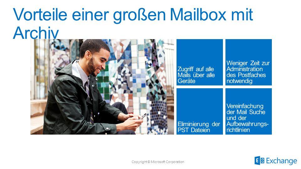 Vorteile einer großen Mailbox mit Archiv