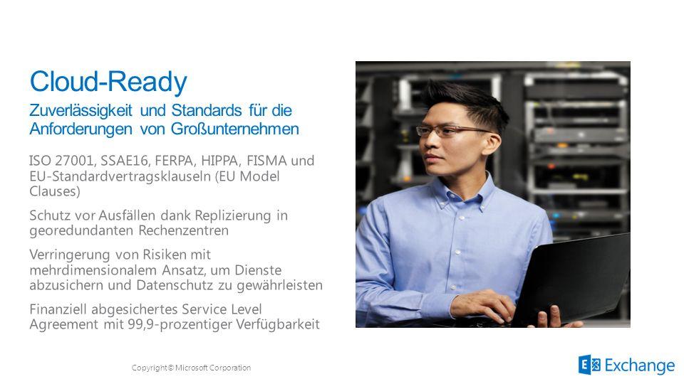 Microsoft Office 3/28/2017. Cloud-Ready. Zuverlässigkeit und Standards für die Anforderungen von Großunternehmen.