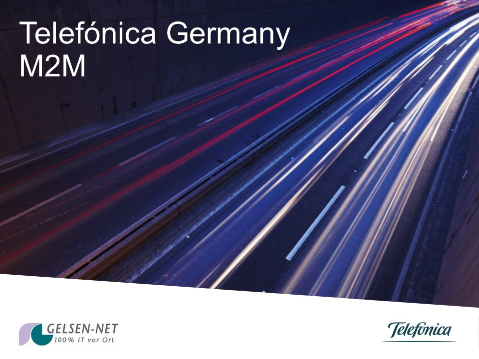 Telefónica Germany M2M