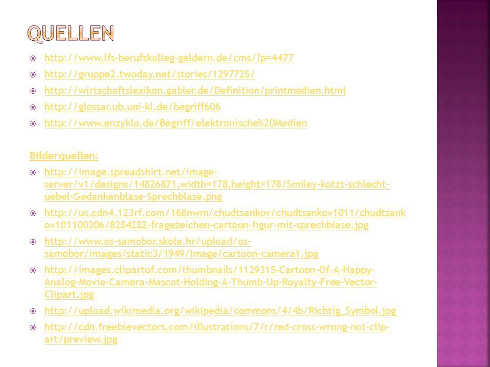 Quellen http://www.lfs-berufskolleg-geldern.de/cms/ p=4477