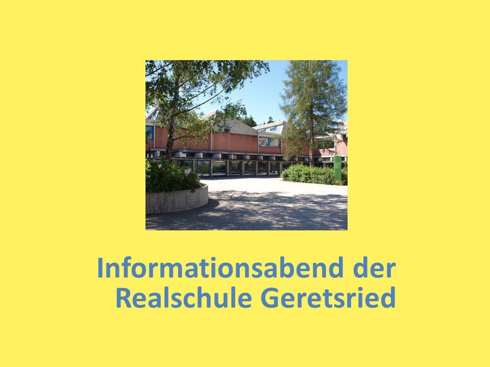 Informationsabend der Realschule Geretsried