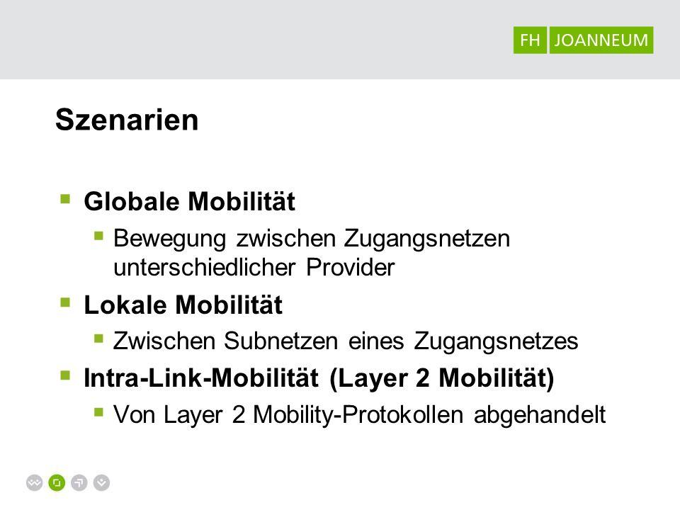 Szenarien Globale Mobilität Lokale Mobilität